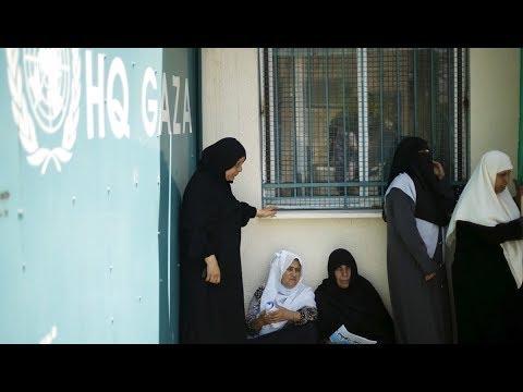 Trump Targets Lifeline for Palestinian Refugees