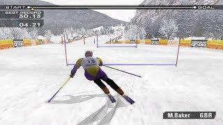 ESPN International Winter Sports 2002 GameCube Gameplay HD