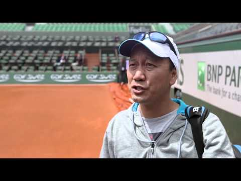 Roland Garros 2014 Michael Chang Interview