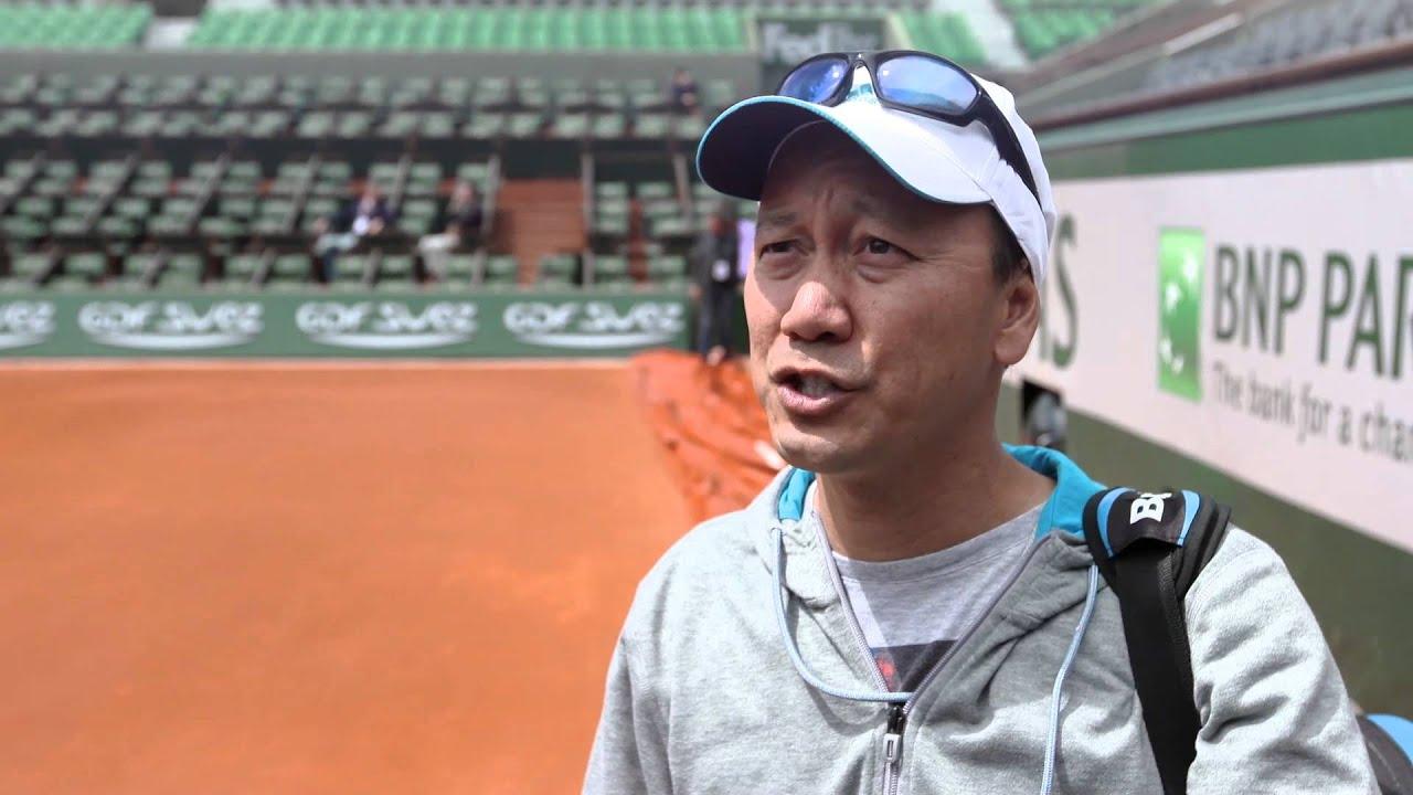 Roland Garros 2014 Michael Chang Interview