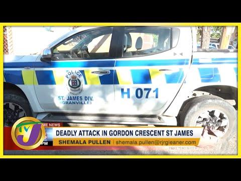 Deadly Attack in Gordon Crescent St. James | TVJ News - Sept 26 2021