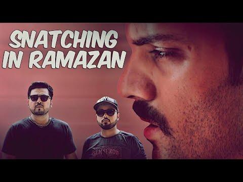 SNATCHING IN RAMAZAN | THE IDIOTZ | FUNNY SKETCH