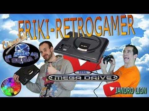 "Geek-Retrogamer special ""Sega Mega Drive"". #frikiretrogamer #jandrolion"