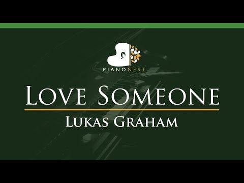 Lukas Graham - Love Someone - LOWER Key (Piano Karaoke / Sing Along)