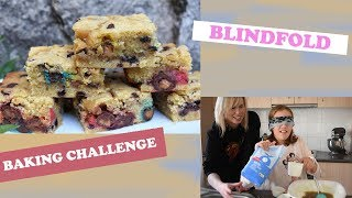 BLINDFOLD BAKING CHALLENGE!