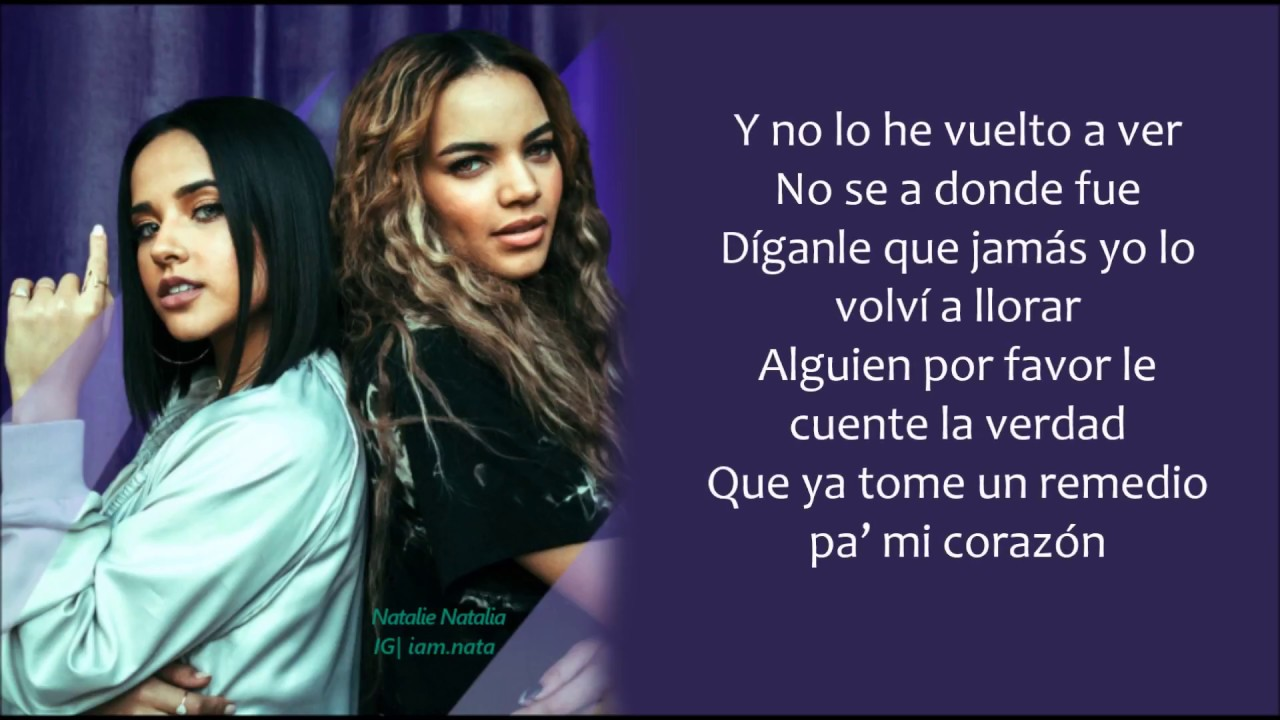 Dganle Leslie Grace Becky G Lyricsletra Youtube