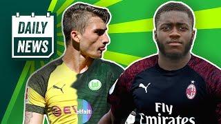 Könnte Brekalo Philipps Transfer zu Wolfsburg verhindern? AC Milan will Upamecano!