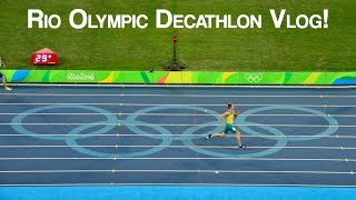 RIO OLYMPICS DECATHLON VLOG!