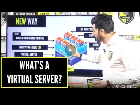 What's a SERVER (VIRTUAL SERVER) & HOW would you answer this TECHNICAL QUESTION? PART 2