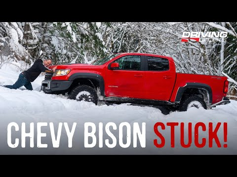 Bison Vs. Blizzard: 2020 Chevrolet Colorado ZR2 Bison Reviewed
