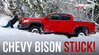 Bison vs. Blizzard: 2020 Chevrolet Colorado ZR2 Bison Reviewed