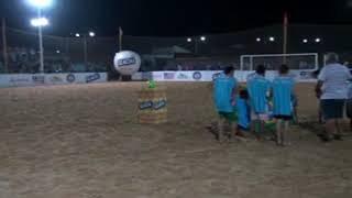 LIMA CAMPOS: Início do campeonato maranhense de Beach Soccer.