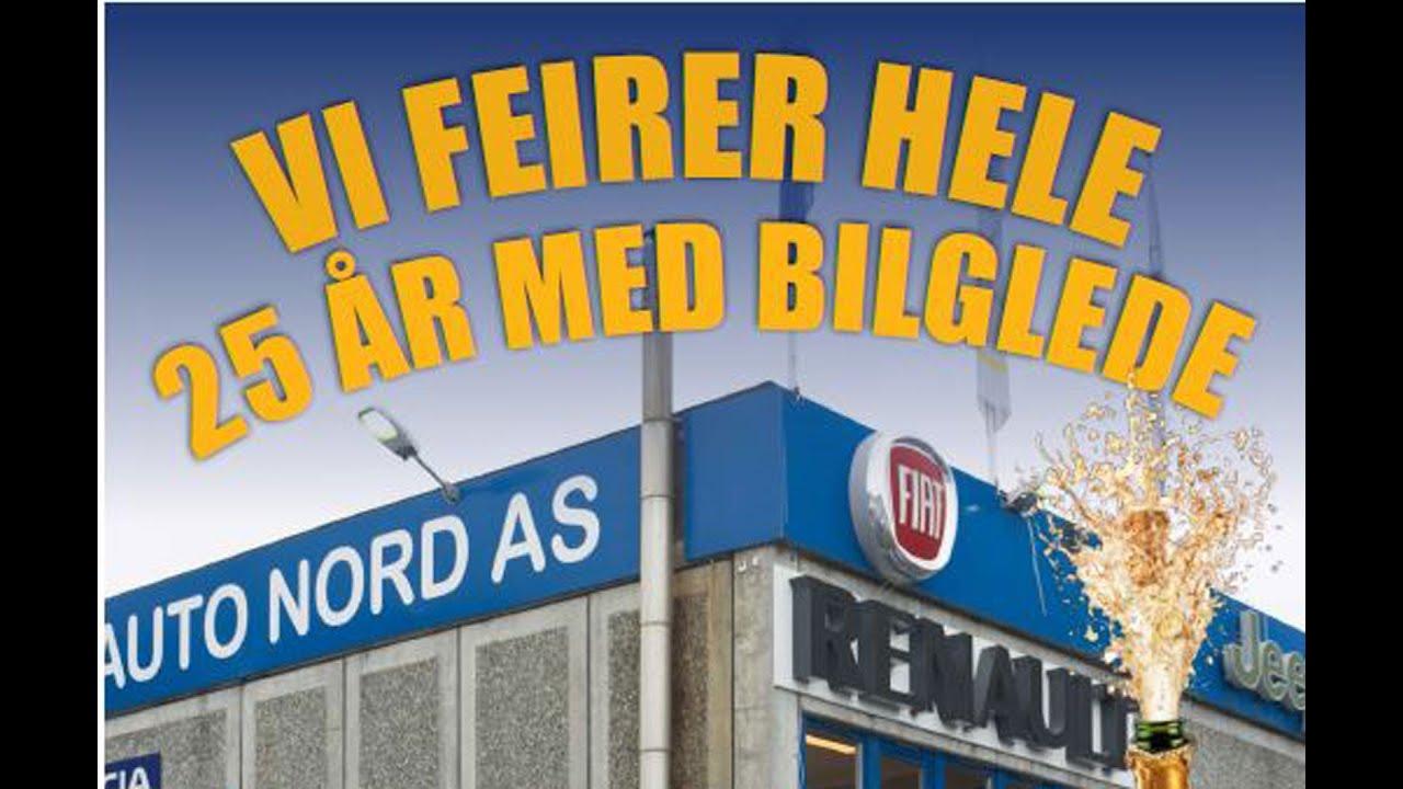 Historien om Auto Nord AS 25 ÅR