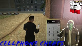 Los Angeles crimes cellphone cheats (all cheats) #LAC