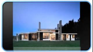 New Blue Modern House Plans