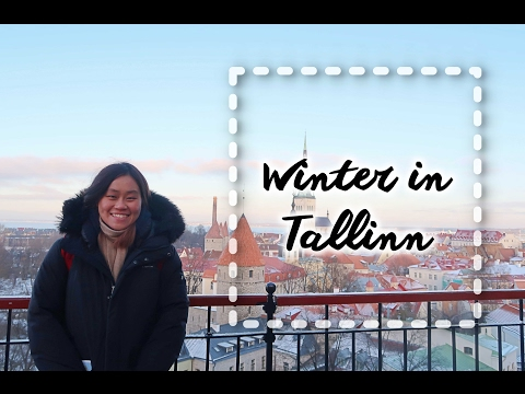 Winter in Tallinn, Estonia | 冬日塔林