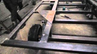 Как сделать гусеничный модуль для автомобиля? Вездеход ТСН 74.