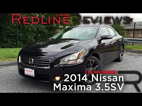 2014 Nissan Maxima 3.5SV Review, Walkaround, Exhaust, & Test Drive