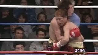 渡辺純一 vs 富本慶久(日本スーパー・バンタム級タイトルマッチ)2/2