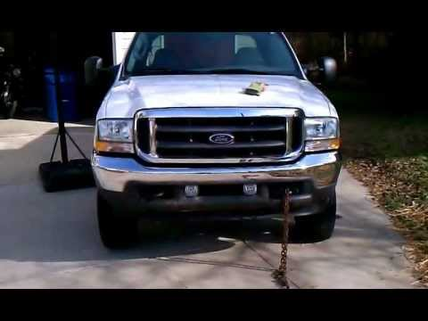 How to find 99-07 F250 F350 plug-in heater