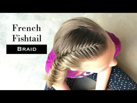 French Fishtail Braid By Erin Balogh Youtube