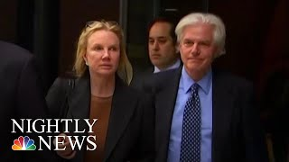 Two Parents Sentenced For Role In College Admissions Scandal | NBC Nightly News