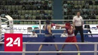 Смотреть видео Сборная Дагестана победила на первенстве России по боксу среди юниоров 17-18 лет - Россия 24 онлайн