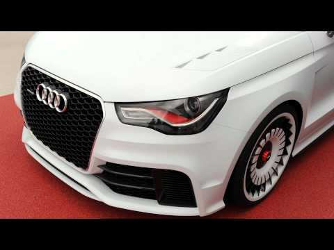 Audi A1 clubsport quattro at 24 Hours of Le Mans