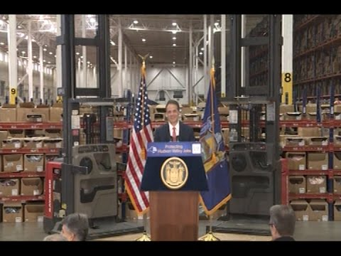 "Gov. Cuomo announced that The Gap, Inc. has opened its Fishkill distribution center in a new ""pop-up"" facility allowing more than 1,200 employees to return to work following the devastating fire that destroyed a company warehouse in August."