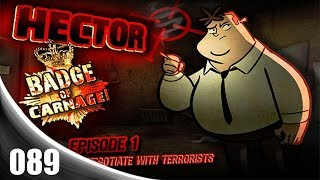 Hector: Badge of Carnage - Episode 1: We Negotiate With Terrorists [089] PC Longplay (FULL GAME)