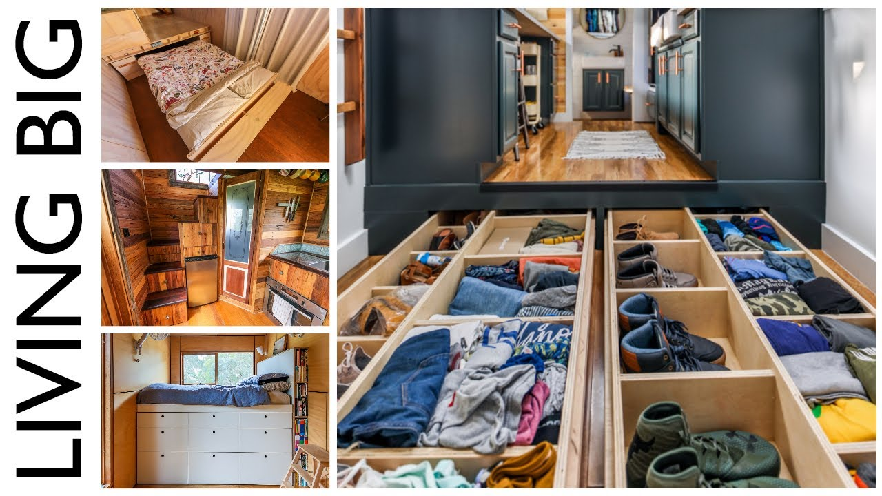 Top Storage Ideas For Tiny Homes Youtube