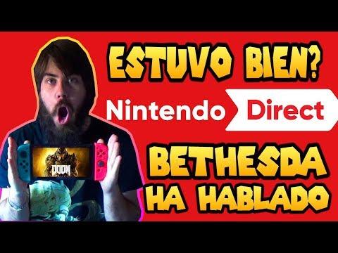 Opinión Nintendo Direct | Bethesda Ridiculiza a las Third Parties
