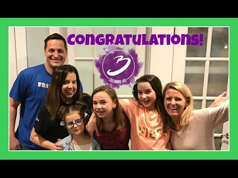 CONGRATULATIONS BRATAYLEY! | LOTS TO CELEBRATE | Flippin' Katie