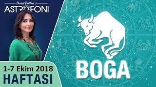 BOĞA Burcu 1-7 Ekim 2018 HAFTALIK Burç Yorumları, Astrolog #DEMET_BALTACI