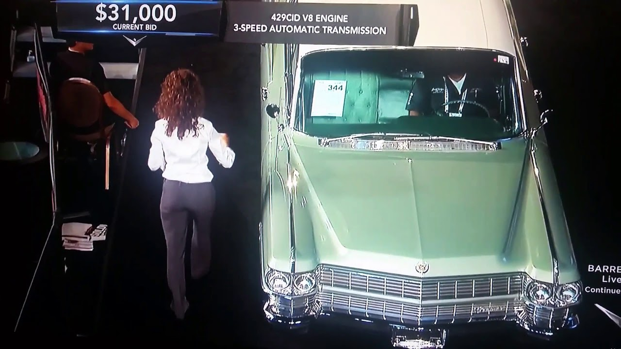 Barrett-Jackson car auction,1964 Cadillac fleetwood,value of car ...