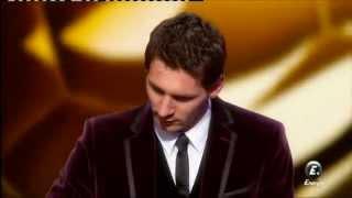 Leo Messi Win the FIFA Balon de Oro 2012