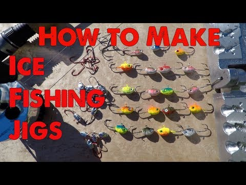 How To Make Ice Fishing Jigs. Complete Tutorial.