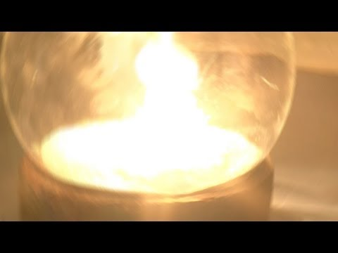 White Phosphorus In Pure Oxygen (reaction Only)