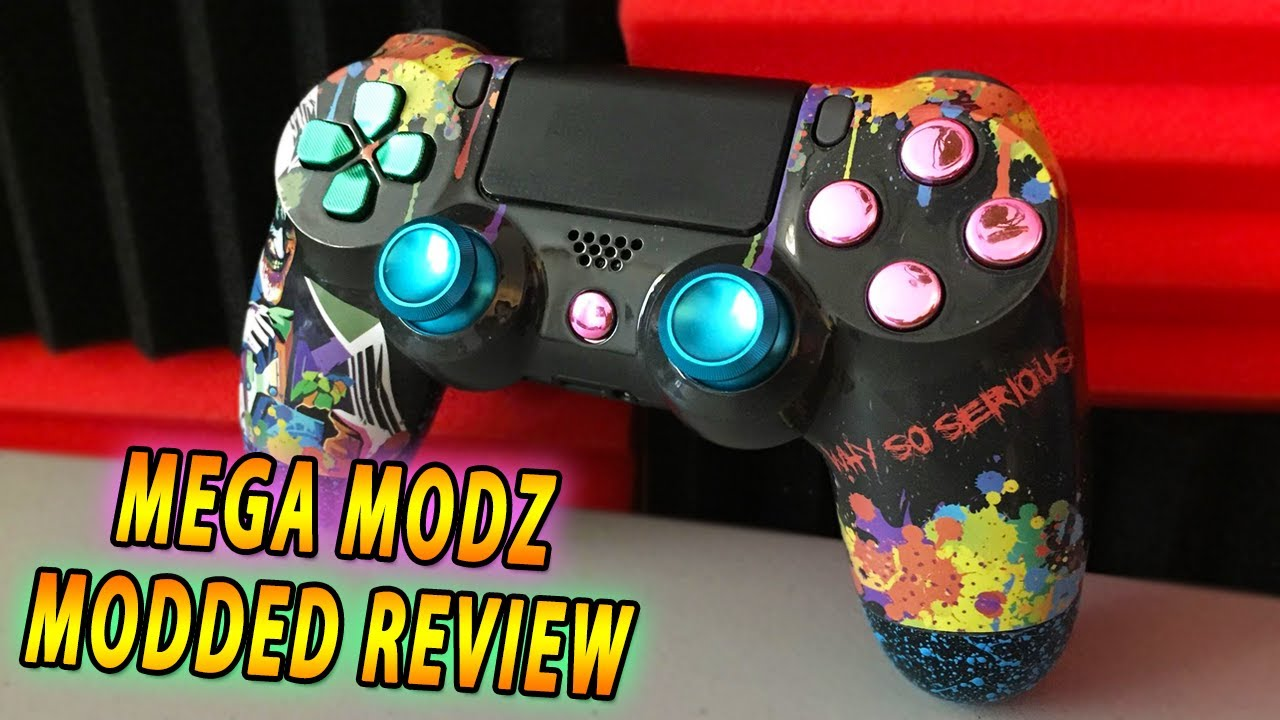 Build Your Own Ps4 Custom Controllers Megamodz Com