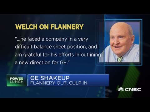 Who is incoming GE CEO Larry Culp?