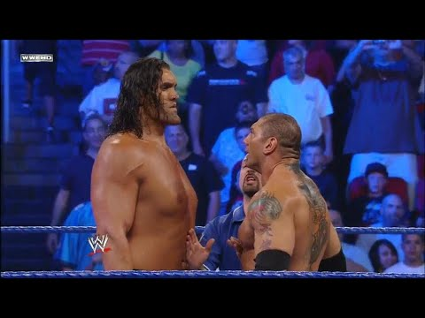 The Great Khali Vs Batista 720p HD Full Match (IF Batista Losses The Match He Has To Quit WWE)