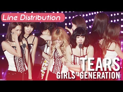 [Line Distribution] Tears - SNSD