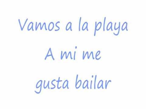Vamos a la Playa- Loona (Lyrics)