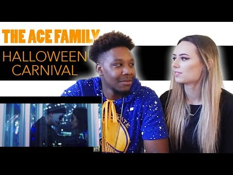 THE ACE FAMILY - HALLOWEEN CARNIVAL ( OFFICIAL MUSIC VIDEO ) | Reaction