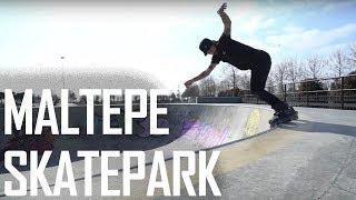 MALTEPE SKATEPARK'TA AGRESİF PATEN KAYDIK! (Türkiye'deki En İyi Beton Skatepark!)
