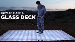 Building a Glass Deck out of Glass Block