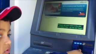 citibank ATM check deposit by a kid
