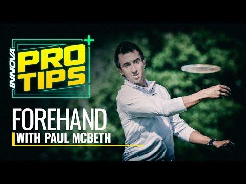 Disc Golf Pro Tip: Paul McBeth Forehand