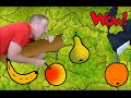 I like oranges! English For Children in Kindergarten | Story For Kids and preschool