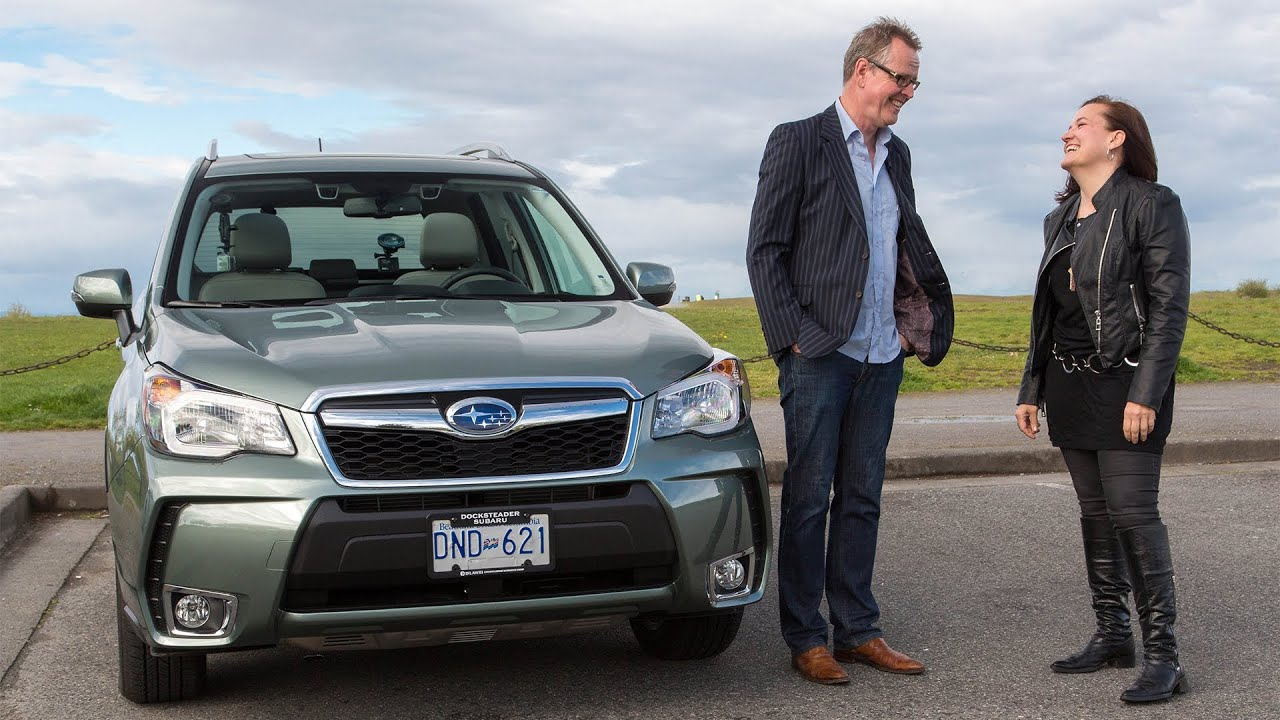 Ceos in cars with carolyn tuckwell in the 2015 subaru forester xt youtube